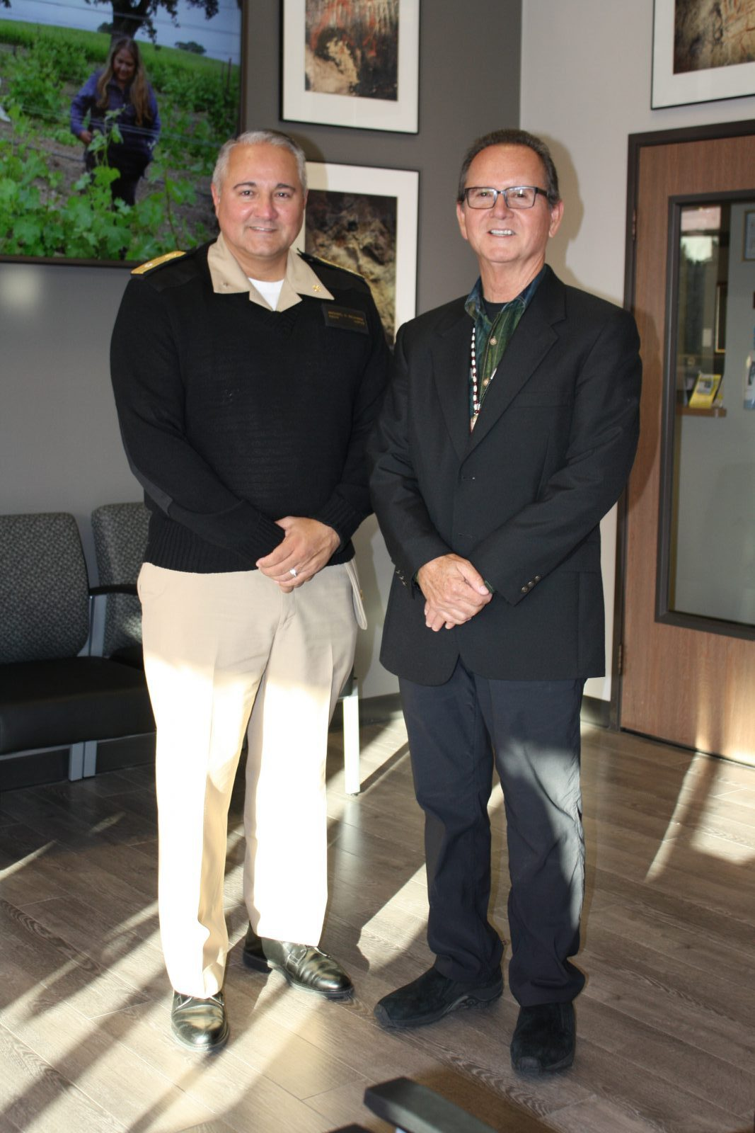 Welcomed VIP guest, Rear Adm. Michael D. Weahkee, Principal Deputy Director of the Indian Health Services (IHS)