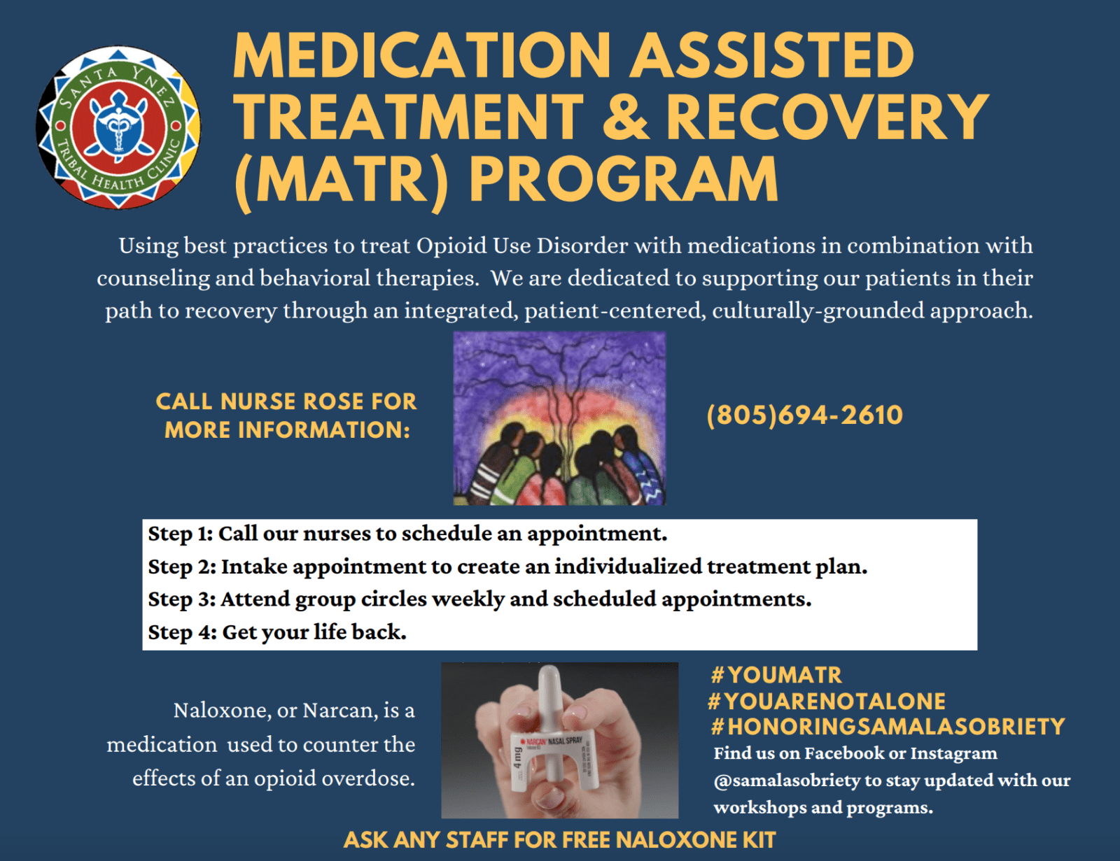 Medication-Assisted Treatment & Recovery Program (MATR)